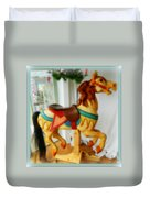 If Wishes Were Horses Duvet Cover