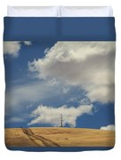 If You Wanna Run Away Duvet Cover by Laurie Search