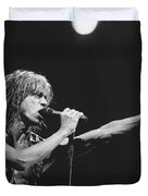 Iggy Pop Live At The Fillmore Duvet Cover