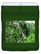 Iguana In A Tree Duvet Cover