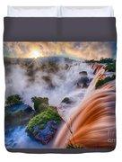 Iguazu Sunrise Duvet Cover