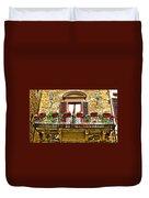 Il Balcone Di Firenze Duvet Cover