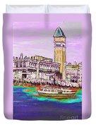 Il Campanile Di San Marco Duvet Cover