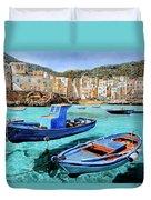 Il Mare Smeraldo Duvet Cover