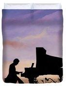 Il Pianista Duvet Cover