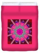 Illuminated Rose Duvet Cover