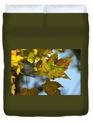 Ilovefall Duvet Cover by JAMART Photography