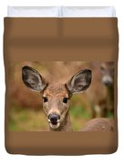 I'm Never Alone Duvet Cover by Lori Tambakis