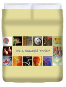 Image Mosaic - Promotional Collage Duvet Cover by Ben and Raisa Gertsberg