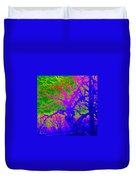 Imaginary Forest Number Two Duvet Cover