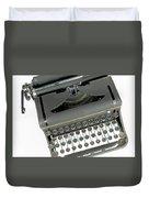 Imagination Typewriter Duvet Cover