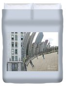 Imaging Chicago Duvet Cover