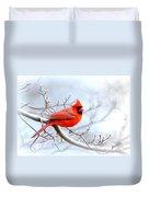 Img 2259-22 - Northern Cardinal Duvet Cover