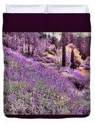 Img 4892_ Purple Lupine_ Yosemite National Park  Duvet Cover