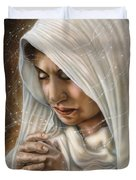 Immaculate Conception - Mothers Joy Duvet Cover