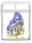 Immanuel Evangelical Lutheran Church Pilot Knob Missouri Duvet Cover