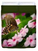 Impatient Swallowtail Duvet Cover