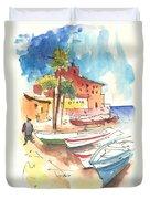 Imperia In Italy 01 Duvet Cover