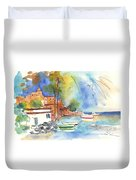 Imperia In Italy 02 Duvet Cover