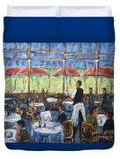 Impresionnist Cafe By Prankearts Duvet Cover