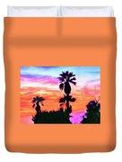 Impression Desert Sunset V2 Duvet Cover