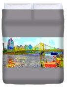 Impressionist Clemente Bridge 2 Duvet Cover
