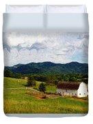 Impressionist Farming Duvet Cover