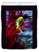 Impressionist Sea Horse Duvet Cover