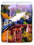 Impressionistic Photo Paint Gs 016 Duvet Cover by Catf