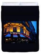 Impressions Of Paris - Latin Quarter Night Life Duvet Cover