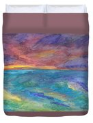 Impressions Of The Sea 1 Duvet Cover
