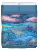 Impressions Of The Sea 2 Duvet Cover
