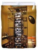 Impressive Wine Rack Duvet Cover