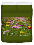 In A Field Of Flowers Duvet Cover