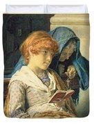 In Church Duvet Cover by Luigi da Rios