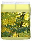 In Due Time Duvet Cover