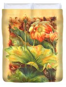 In Full Bloom Duvet Cover