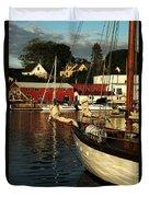 In Harbor Duvet Cover by Karol Livote