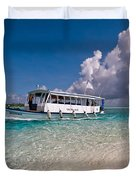 In Harmony With Nature. Maldives Duvet Cover