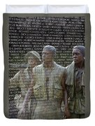 In Life And Death Duvet Cover