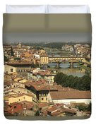 In Love With Firenze - 1 Duvet Cover
