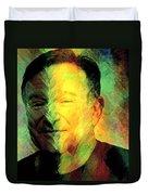 In Memory Of Robin Williams Duvet Cover