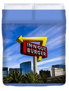 In N Out Duvet Cover