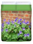 In Neighbours Garden Duvet Cover