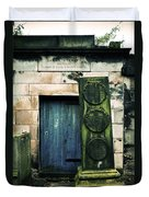 In Old Calton Cemetery Duvet Cover by RicardMN Photography