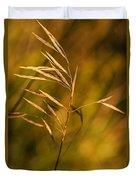 In Praise Of Grass 3 Duvet Cover