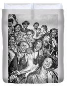 In Praise Of Jazz Duvet Cover by Steve Harrington