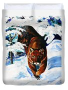In Pursuit Duvet Cover