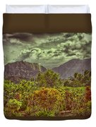 In Search Of The Dinosaurs-jurassic Park Duvet Cover