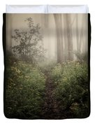 In Silence Duvet Cover